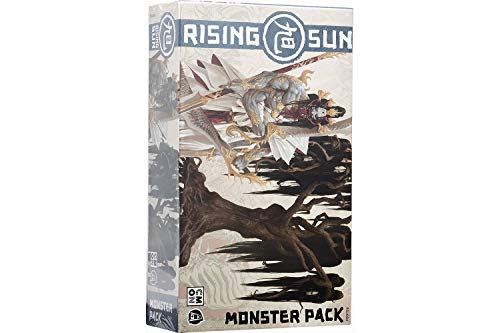 Asmodee- Rising Sun Monster Juego de Mesa con miniaturas, Individual, Color (CMON 10303)