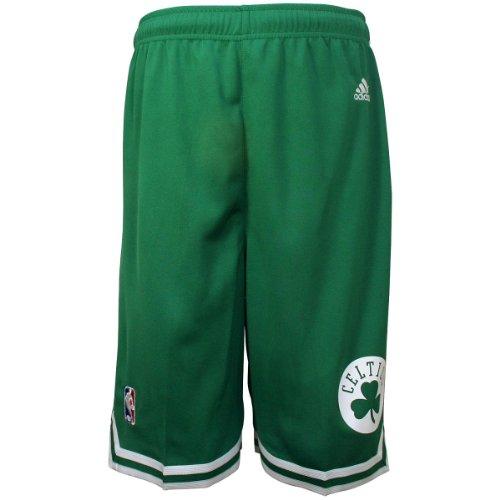 NBA adidas Boston Celtics Toddler Revolution 30 Replica Road Shorts (2T)