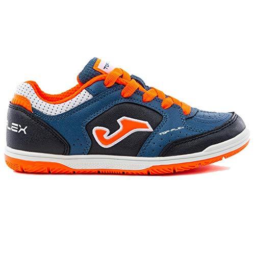 Joma - FS JOMA Top Flex 905 Junior AZ/MA Hombre Color: Navy Orange Talla: 36