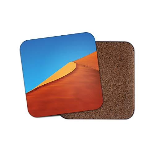 Sand Dunes posavasos – Sahara Desert Travel Egipto Hot Sun Dune Cool regalo #15397