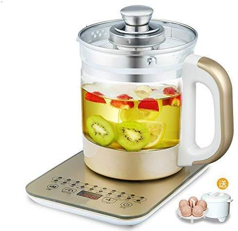 Ispessimento Glazen waterkoker, elektrisch, automatische theepot, multifunctionele salute pot, maakt theekoker en water, yoghurt