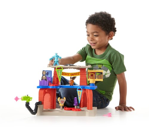 Fisher-Price Imaginext Monsters University Scare Games