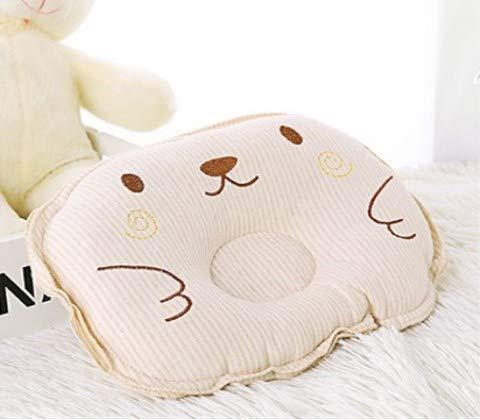 Muitar Almohada infantil recién nacidos Estereotipo almohada de algodón de color bebé correctivo almohada cefálica almohada de algodón puro para niños (1 fotos)