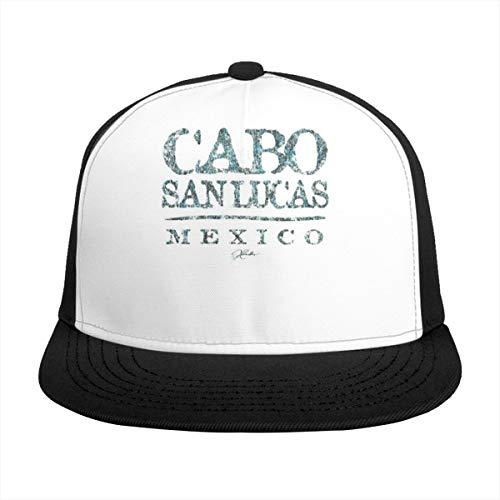 N/ Cabo San Lucas, Mexico Gorra Béisbol Negro