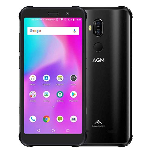 AGM X3 Android 8.1 Smartphone Octa Core 8GB+64GB 5,9inch Face ID 4G OTG Dual SIM