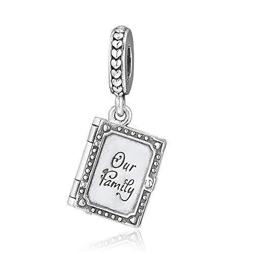 BAKCCI Abalorio de plata 925 para regalo del día de la madre de 2019, para pulseras originales Pandora, joyería de moda