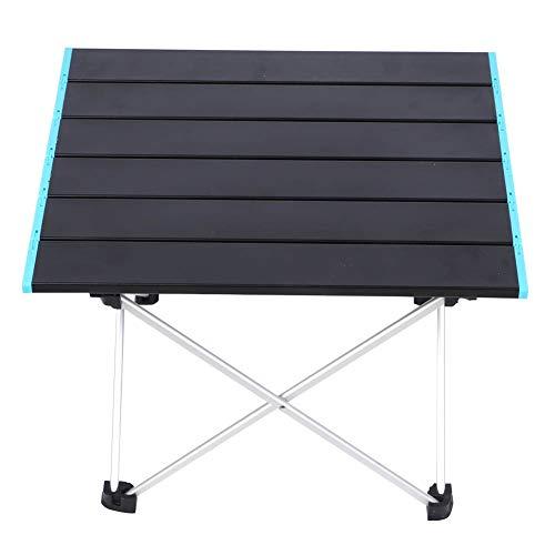 KJLH Mesa de playa portátil plegable pequeña mesa de camping para cocinar...