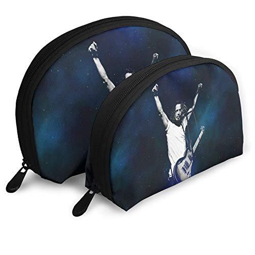 XCNGG Chris Cornell, bolsos de cosméticos de moda, bolso portátil, bolso de mano, conjunto de bolsos de viaje para hombres y mujeres, con organizador de bolsos con cremallera, 2 uds.