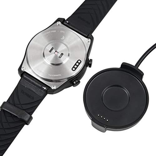 Compatível com Aimtel Ticwatch Pro carregador suporte cabo de carregador dock, leve e fácil de transportar Ticwatch Pro Smart Watch