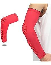 NATUREACT - 1 codo transpirable para protección de compresión, brazo de baloncesto
