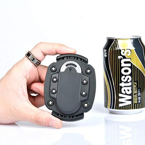 Sarari Oben ohne Bier Top Drafter, Universal Bier Dosenöffner multifunktionale Getränkeflaschenöffner Cutter manuelle Getränke Bier Dose Öffner Bar Zubehör Küchenwerkzeug