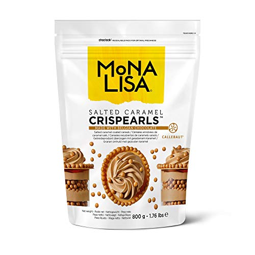 Mona Lisa Crispearls de Caramelo Salado 800 g