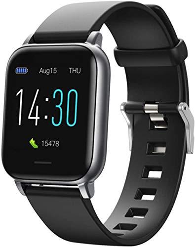 Reloj inteligente de 1,3 pulgadas, rastreador de fitness, presión arterial, monitoreo del sueño, reloj inteligente impermeable para hombres y mujeres-A