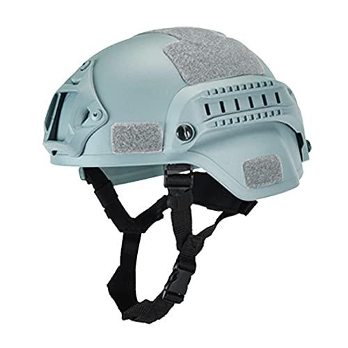 Casco tattico militare Airsoft Gear Paintball Head Protector con visione notturna Sport Camera Mount