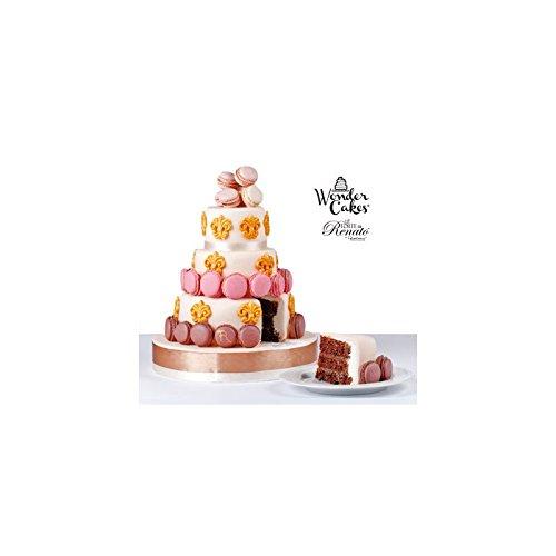 Silikomart 25.951.87.0069 Coffret de 3 Moules pour Gâteau à 3 Etages Forme Ronde Silicone Blanc