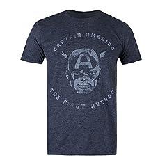 Marvel First Avenger Camiseta para Hombre