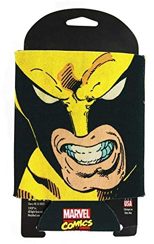 Wolverine Angry Face Can and Bottle Cooler