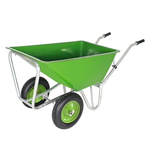 Trutzholm ® Hofkarre 2 Rad Profi-Schubkarre Gartenschubkarre Schiebkarre Garten 220l 300kg