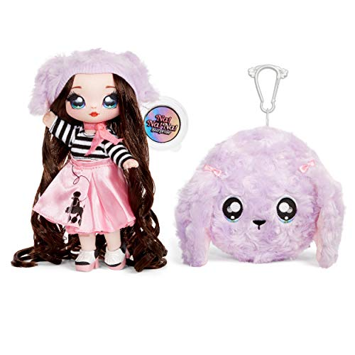 MGA Entertainment Na! Na! Na! Surprise 2-in-1 Fashion Doll and Plush Purse Series 3 – Fifi Le'Fluff