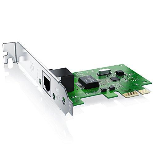 CSL - Tarjeta Red Gigabit PCIe PCI-E PCI Express -