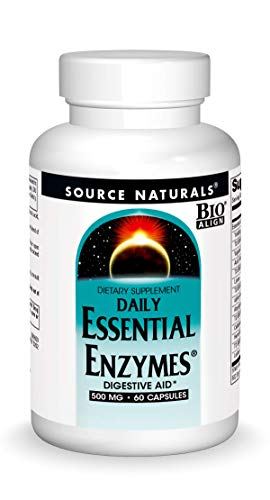 Source Naturals Essential EnzymesTM 500 mg 60 Capsules