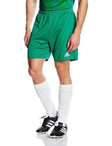 adidas Parma 16 Intenso Pantalones Cortos para Fútbol, Hombre, Verde (Verfue/Blanco), L