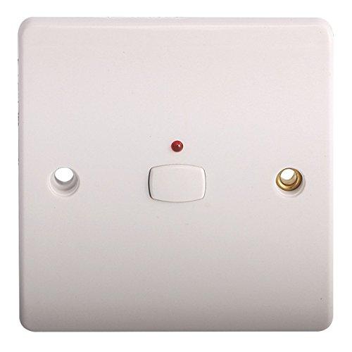 Energenie mihome 13A 1-Gang 1Vía interruptor de luz Color blanco