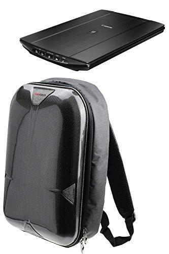Navitech A4 Tragbarer mobiler Scanner Hart Rucksack Tasche Schutz hülle für den FLAGPOWER 900DPI Solutions Magic