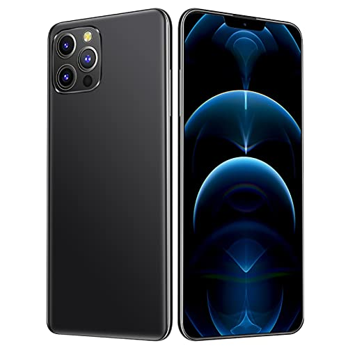 HUALUDA 6.7 inch HD Display Mobile Phones, Unlocked Android Smartphone, 24MP+48MP Dual Cameras, Cell Phones with face Recognition Function (Color : Graphite, Size : 8+256G)