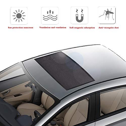 Auto luifel, venster vizier Auto zonnedak magnetische Auto zonnedak Zonnescherm Outdoor muggenscherm zonwering cover om zuigelingen/huisdieren te beschermen tegen zonverblinding en schadelijke UV-stralen, universele auto gordijnen