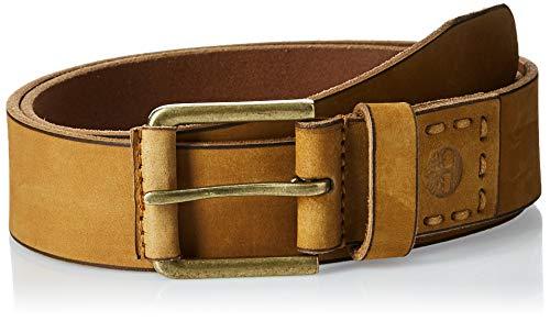 Timberland - Cintura casual in pelle da uomo - Giallo - 40