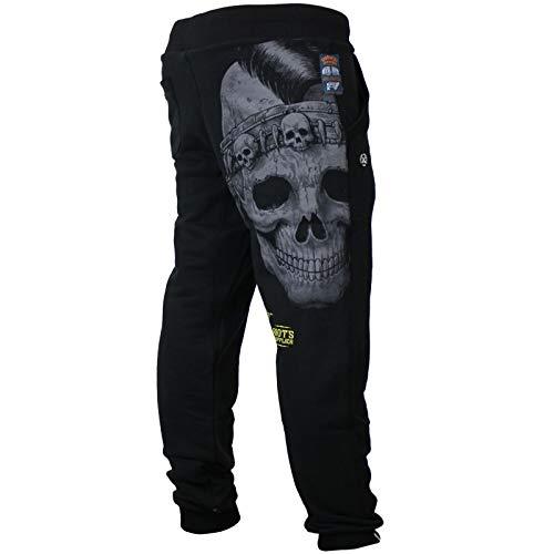 Yakuza Premium Herren Jogginghose 3029 schwarz Sweatpants XL