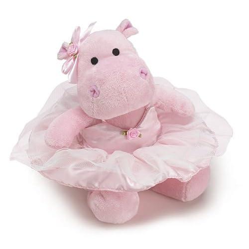 Burton and Burton Stuffed Animal Cute Pink Ballerina Hippo Plush Toy 683ecd551017