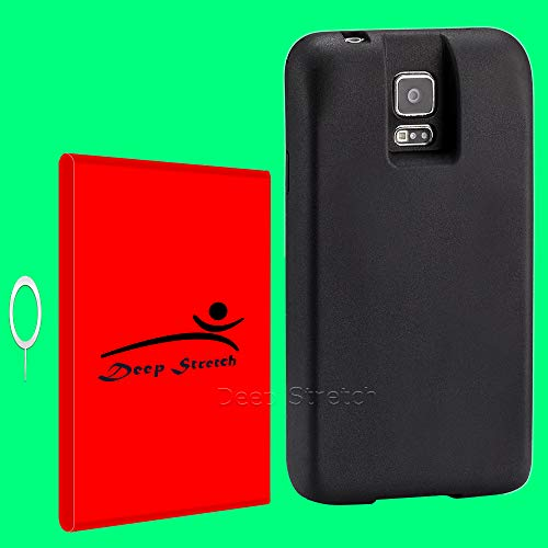 Substitutable 8900mAh Spare Extended Battery Premium Real Back Cover for Samsung Galaxy S5 SM-G900T T-Mobile