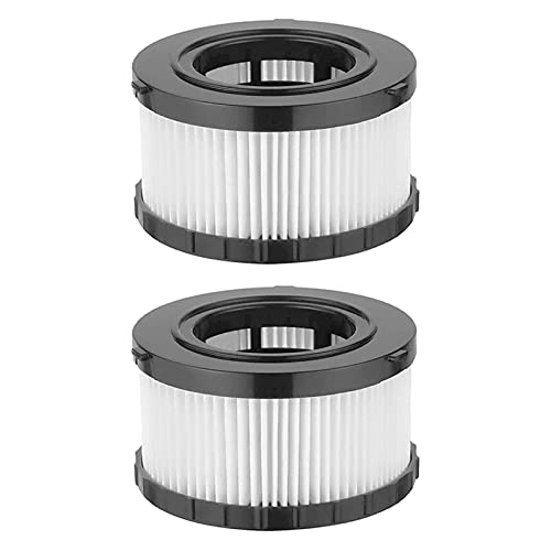 KATI Composición de aspiradora HEPA Filtro Compatible con DeWALT DC5151H Adecuado DEWALT DC515,DCV517 Vacuumas húmedas/secas de Medio galón Limpieza doméstica (Color : Black White)