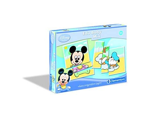 Clementoni - 12485 - Jeu Educatif - Premier Age - Baby Classic - EduBaby - Disney Mix