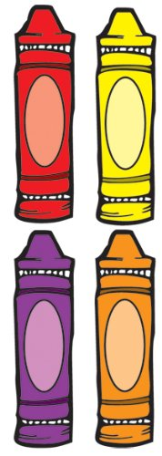 Crayons Cut-Outs
