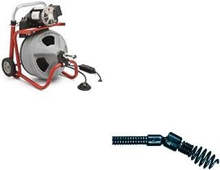 Ridgid 27008 K-400 Drum Machine & Ridgid 63065 T-217 4