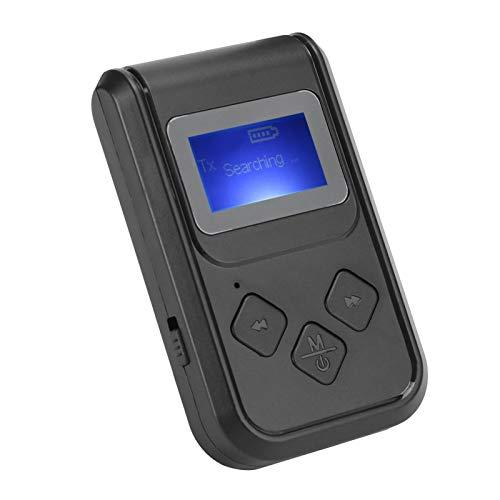 DAUERHAFT Adaptador de música inalámbrico Adaptador de Audio Bluetooth de Alta confiabilidad, para teléfono móvil, Altavoz, para Radio de Coche