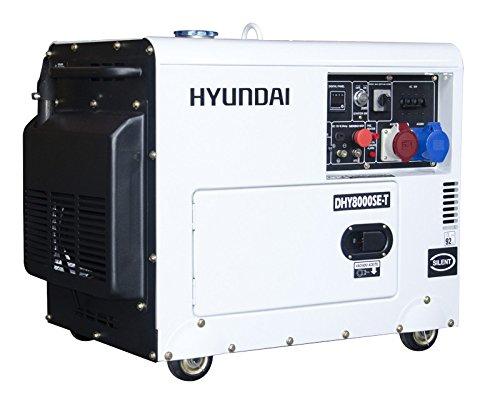 Hyundai, DHY8500SE-T, Generador Diesel Full Power