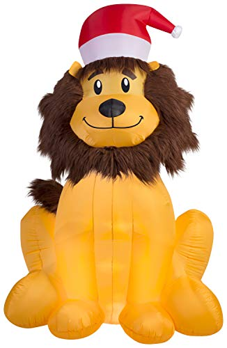 Home Accents Holiday 6' Inflatable Lion