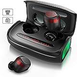 TWS Bluetooth Kopfhörer, VOTOMY Kopfhörer Kabellos in Ear mit Mikrofon und 2500mAh Ladebox, IPX7...