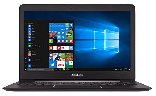 Asus Zenbook UX330UA-FC079T 33,7 cm (13,3 Zoll, mattes FHD) Notebook (Intel Core i7-7500U, 256GB Festplatte, 8GB Arbeitsspeicher, Intel HD Graphics, Win 10 Home) schwarz