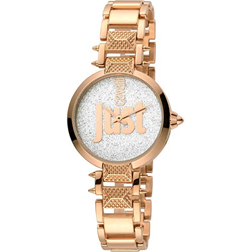 Just Cavalli Just Mio Uhr JC1L076M0145 - Damen beschichteter Edelstahl Quarz Analog