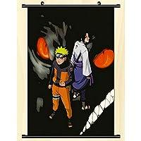 アニメ壁スクロールポスターナルト壁掛けポスター家の装飾コレクションアート-50x75cm,20inchx30inch