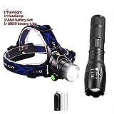 Shd Taschenlampe 12000 lm LED T6 / L2 / V6 LED Scheinwerfer Zoom Scheinwerfer Fahrrad Wasserdicht Licht T6-4000 Lumen
