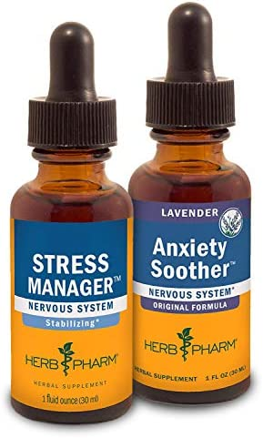Herb Pharm Stress Manager Liquid Herbal Formula with Rhodiola and Holy Basil Liquid Extracts product image