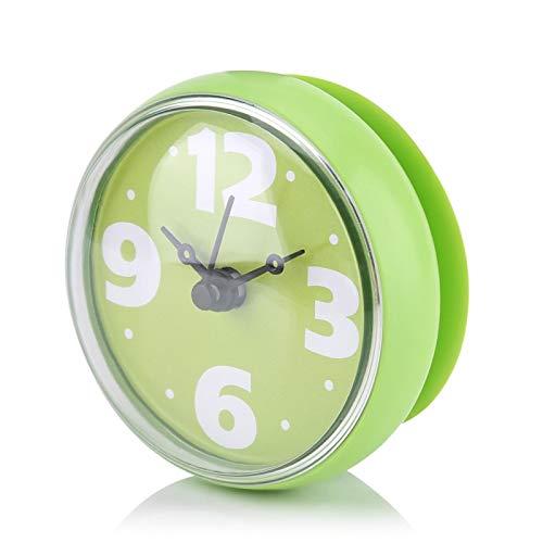 Jopwkuin Reloj De Baño, Ideal para Baño O Cocina Reloj De Pared...