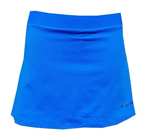El Gusanillo - Falda de pádel o Tenis en Suplex, la Tela más Inteligente al Servicio del pádel - Modelo Win Azul Royal