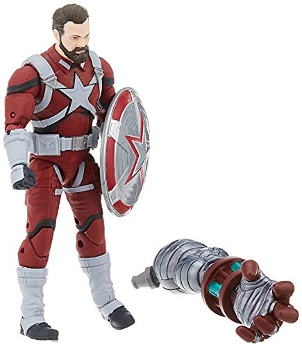 Hasbro Marvel Legends Series - Red Guardian (Action Figure 15cm da Collezione, Build-A-Figure Crimson Dynamo, Ispirata al Film Black Widow)